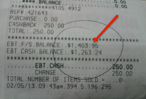 """EBT Card Balance - Phone Number and Online Login"""