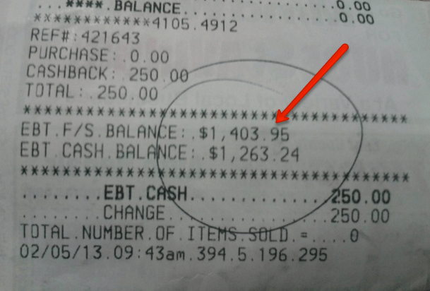 Ebt Card Balance Check By State Food Stamps Now
