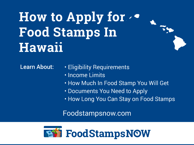 Apply for Food Stamps in Hawaii Online