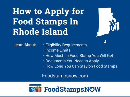 """""""How to Apply for Food Stamps in Rhode Island"""""""
