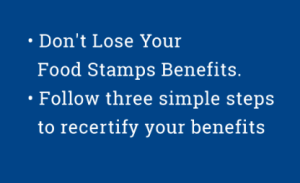 """How to renew New York Food Stamps"""