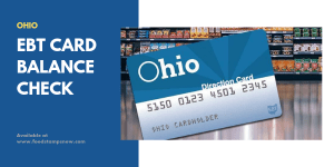 Ohio EBT Card Balance Check
