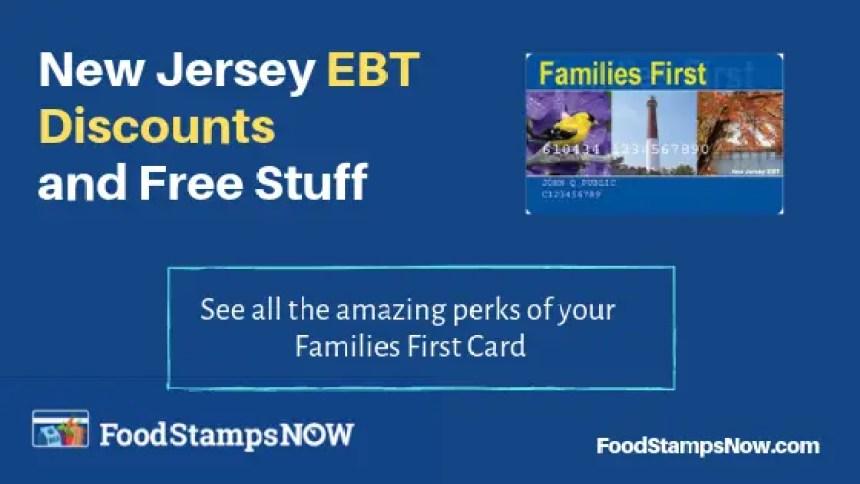 """""""New Jersey EBT Discounts"""""""