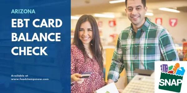 """""""Arizona EBT Card Balance Check"""""""