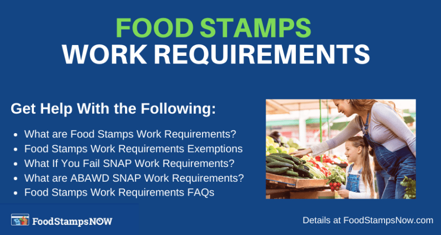 """Food Stamps Work Requirements"""