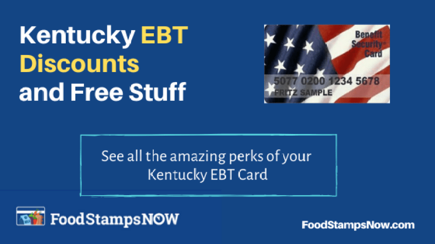 """Kentucky EBT Discounts and Perks"""