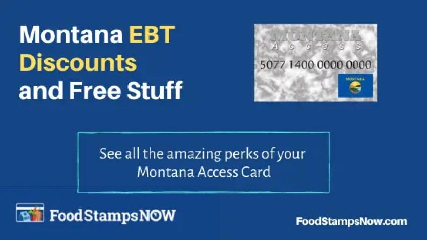 """Montana EBT Discounts and Perks"""