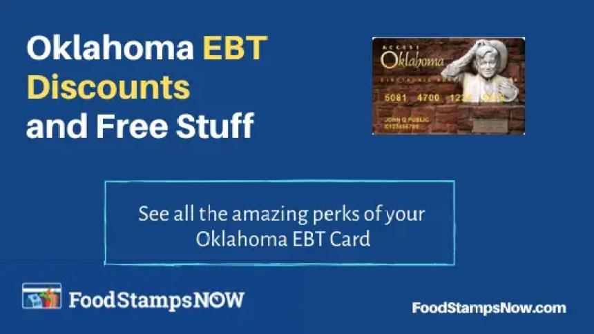 """Oklahoma EBT Discounts and Perks"""