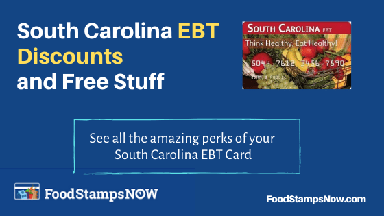 South Carolina EBT Discounts and Perks