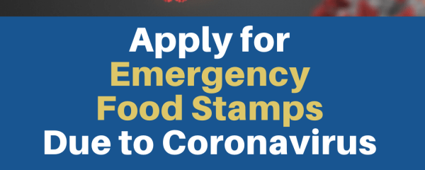 """Emergency food stamps due to Coronavirus"""