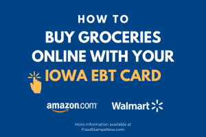 Shop for groceries online with Iowa EBT