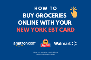 Shop for groceries online with New York EBT