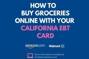 """Buy Groceries Online with California EBT"""