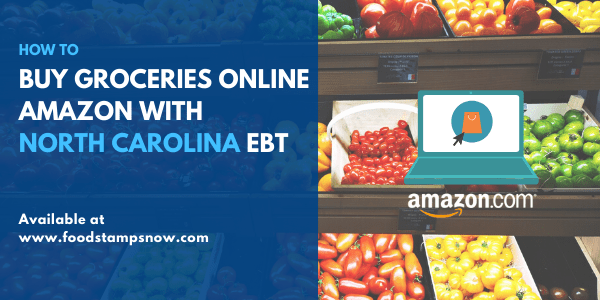 Buy groceries online Amazon with North Carolina EBT