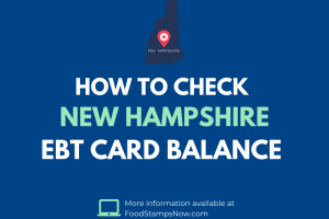 New Hampshire EBT Card Balance Check
