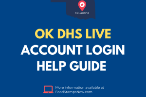 OK DHS Live Login Help