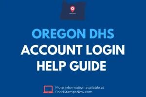 Oregon DHS Login Help