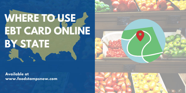 Where to Use EBT Online by State