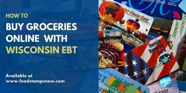 Buy groceries online with Wisconsin EBT