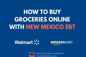 Buy groceries online with your New Mexico EBT Card
