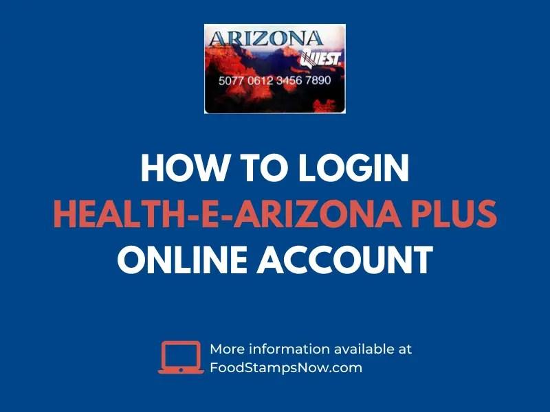 www.healthearizona.gov login