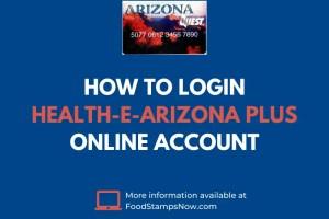 How to login Health-e-Arizona PLUS Account
