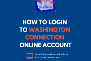 """""""How to login Washington Connection Online Account"""""""