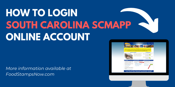 South Carolina SCMAPP Login Help