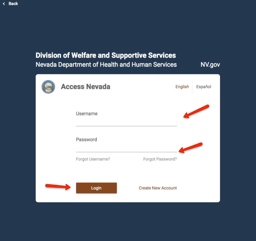 """Access Nevada Login Instructions 1"""