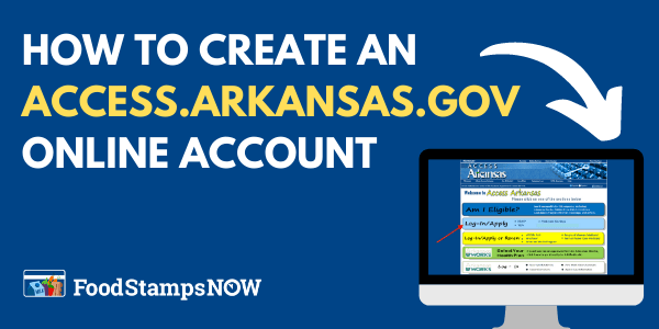 Create an Access Arkansas Gov Account
