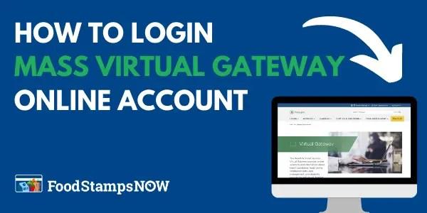 Mass Virtual Gateway Login