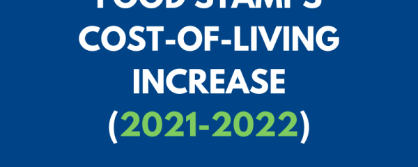 Food Stamps Cost-of-Living Increase