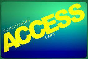 """PA food stamp access card"""