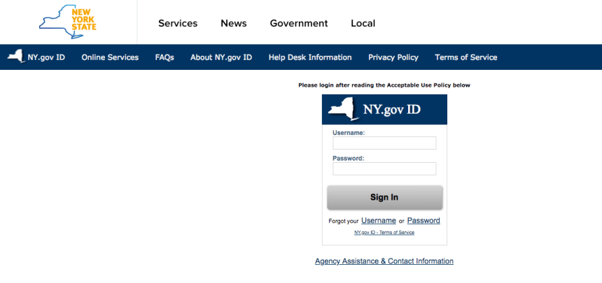 """Mybenefits.ny.gov Login"""