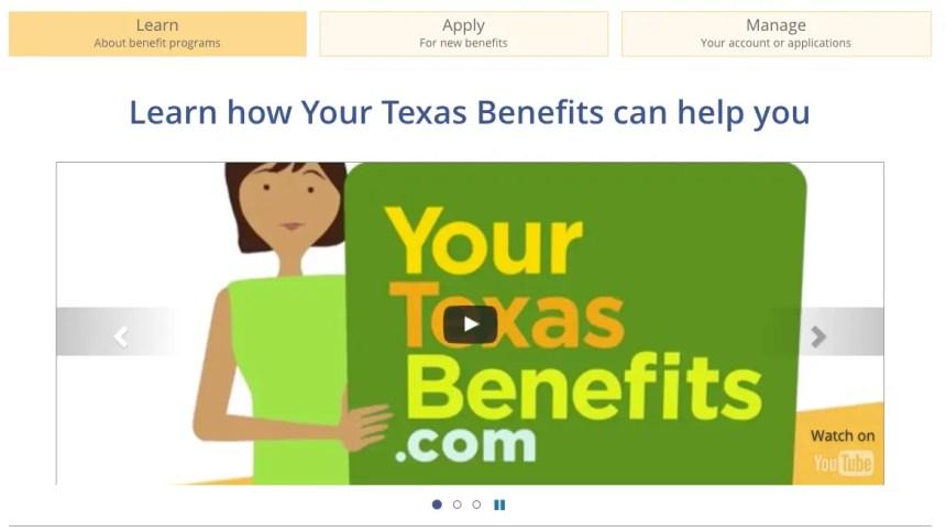 """Yourtexasbenefits.com Login into your account"""