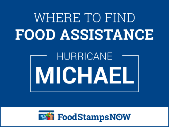"""Apply for Hurricane Michael Disaster Food Stamps"""