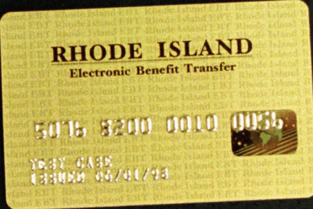 """""""Rhode Island EBT Card"""""""