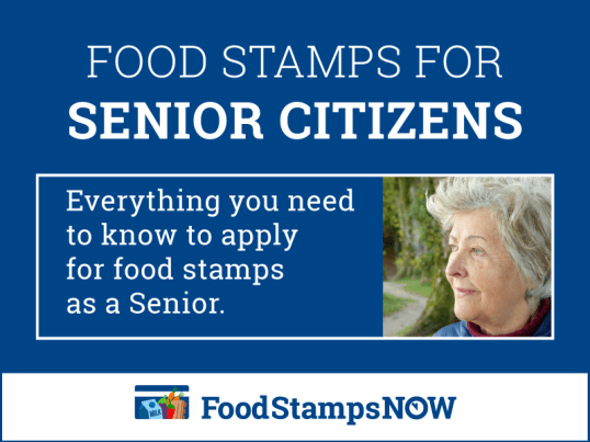 """""""Food Stamps for Seniors"""""""