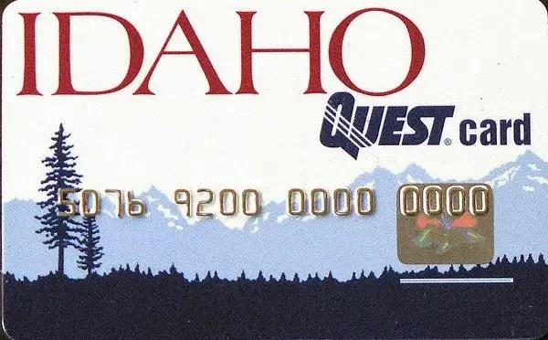 Idaho EBT card