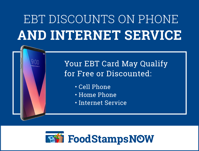 """EBT Discounts on Phone and Internet Service"""