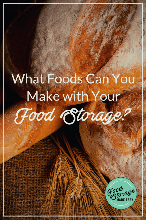 food storage foods pin