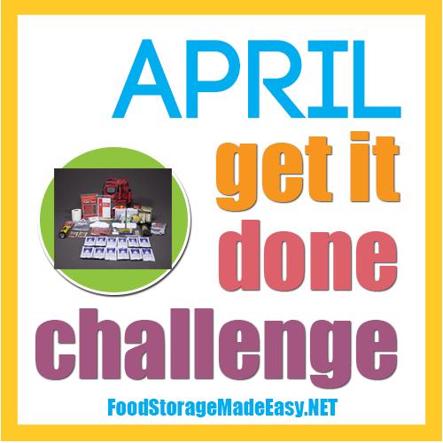 APRIL: Get it Done Challenge -- Swap those kits