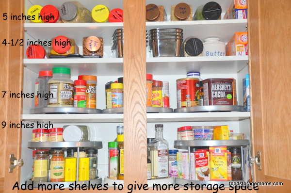 add a shelf for kitchen cupboards | my web value