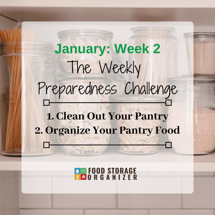 Organize Your Pantry • January Prep Challenge #2