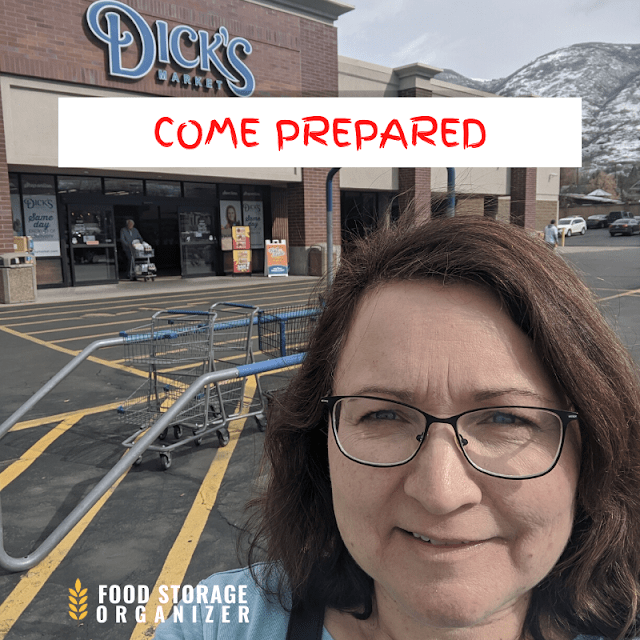 Come Prepared When You Stock Up at Grocery Case Lot Sales