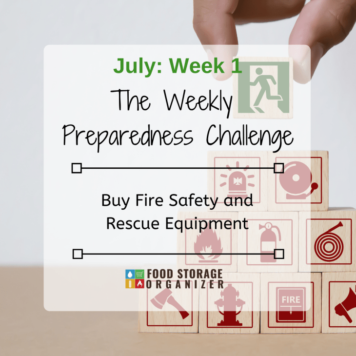 Buy Fire Safety and Rescue Equipment • July Prep Challenge #1