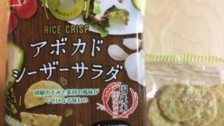 ヘルシー志向にもってこい!スナック感覚の新しい米菓のRICE CRISP アボカドシーザーサラダをご紹介!