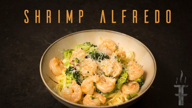 Shrimp Alfedo