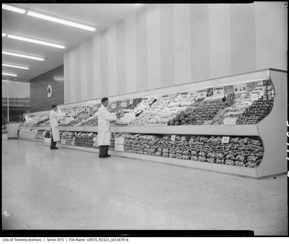 A supermarket in Toronto (Brennan, 2013)