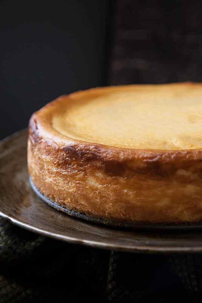 Classic New York Cheesecake   Foodtasia